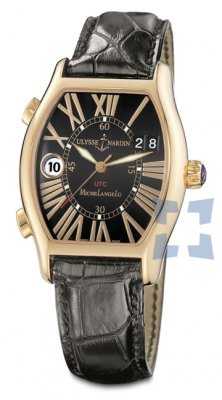 Ulysse Nardin Michelangelo UTC Dual Time Mens Watch 226-68-42 re