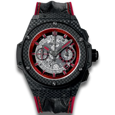 Replica Hublot King Power Unico Carbon and Red 701.QX.0113.HR