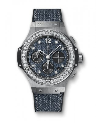 Replica Hublot Big Bang Jeans Steel Diamonds 341.SX.2770.NR.1204.JEANS