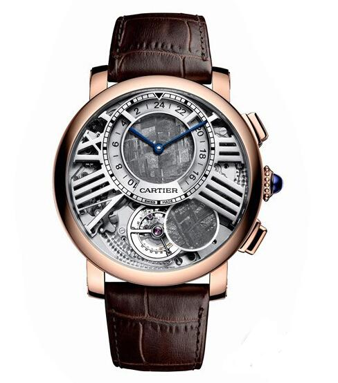 Rotonde de Cartier Terre et Lune Watch